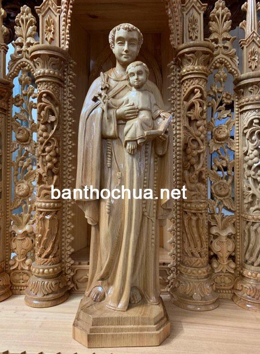 Tượng Công Giáo Bằng Gỗ đẹp