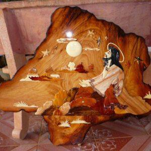Tranh gỗ Chúa Giêsu TGC02