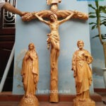 tượng gỗ công giáo đẹp