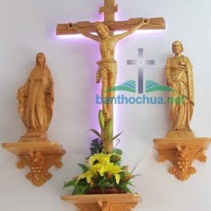 Bộ tượng bàn thờ Chúa và kệ thờ Chúa BT83