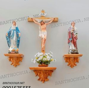 Những mẫu bàn thờ Chúa đẹp hiện đại