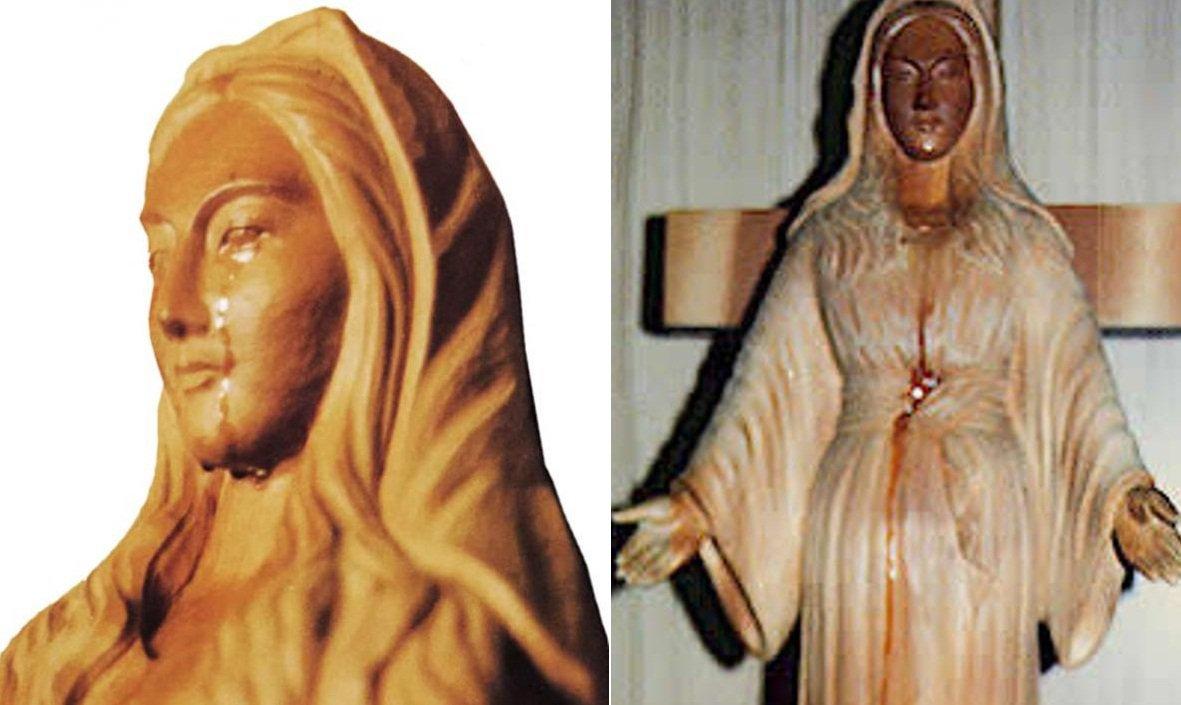 Đức Mẹ Maria hiển linh, chữa khỏi bệnh nan y và báo mộng cho tín đồ