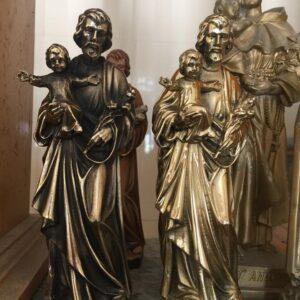 Tượng Thánh Giuse Bằng Đồng Vàng TĐ05