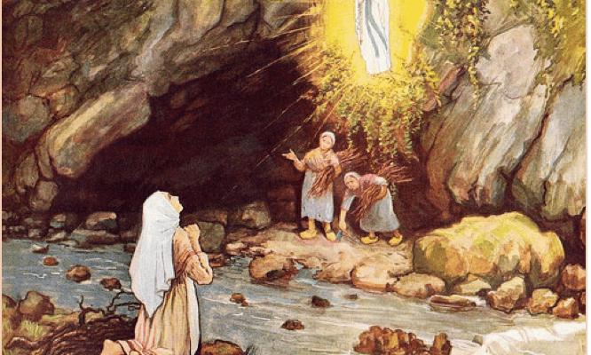 Đức Mẹ Hiện Ra Tại Lộ Đức Năm 1858