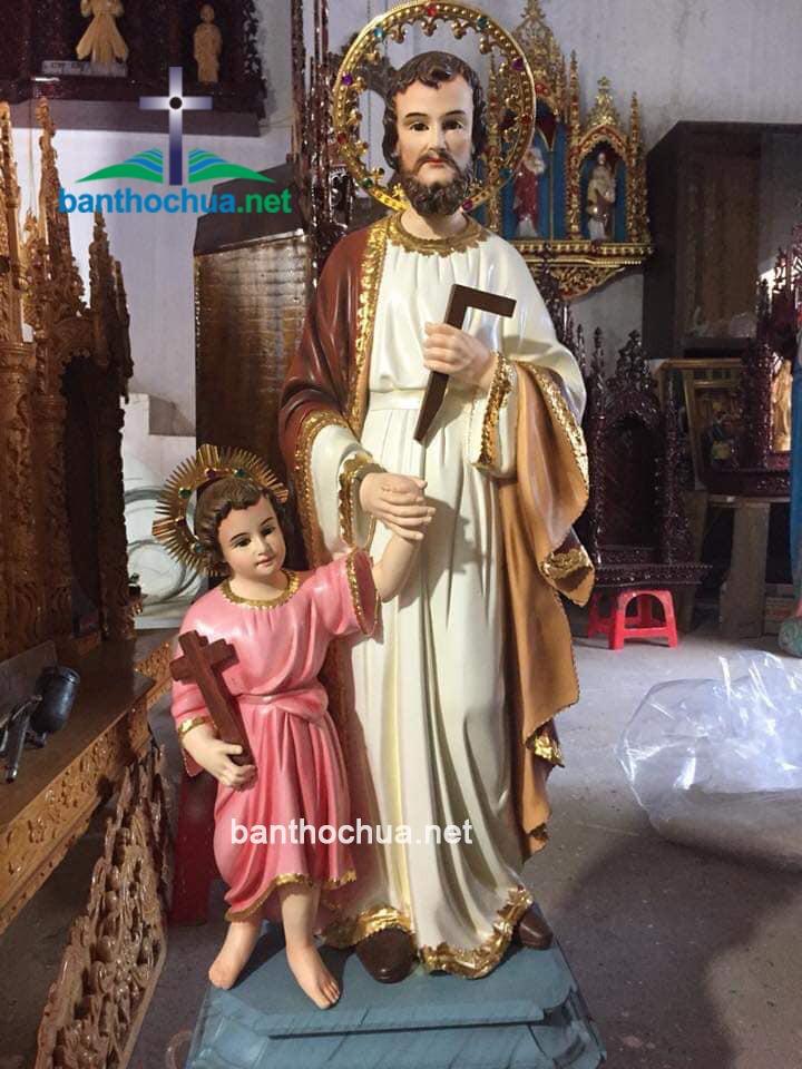 tượng thánh giuse bằng gỗ