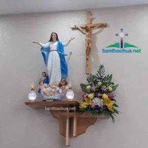 Vì sao bàn thờ Chúa Hồng Ân lại được khách hàng trên cả nước ưa chuộng?