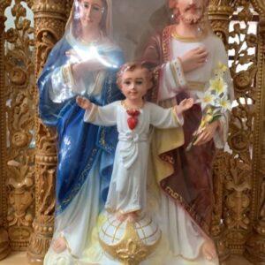 Bộ Tượng Thánh gia bằng composite đẹp