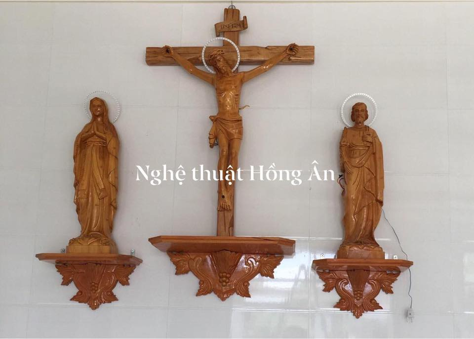 bàn thờ thiên chúa bệ rời đẹp