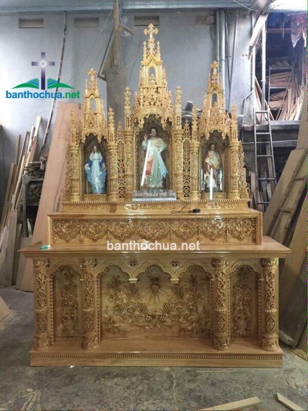 mẫu tòa thờ công giáo