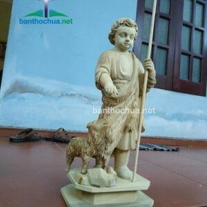 Tượng Thánh Gioan dắt chiên