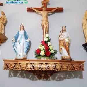 mẫu bàn thờ chúa hiện đại