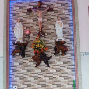 Bàn thờ gỗ trai – mẫu nhà khách ở Hải Phòng