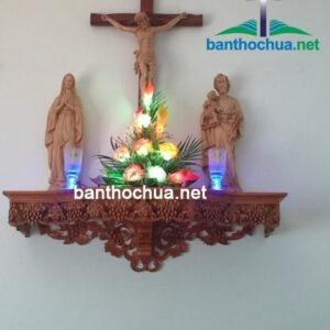 Bàn thờ Chúa – mẫu nhà khách tại Bắc Ninh