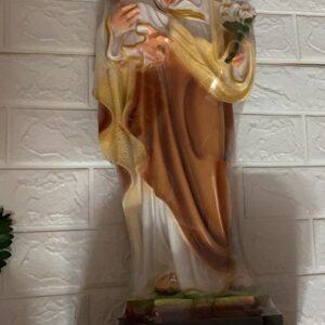 Tượng thánh Giuse bế Chúa composite TC38