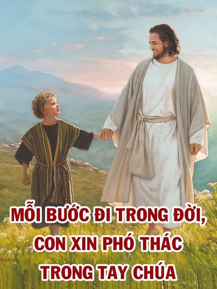 Chua Giesu Dat Tay