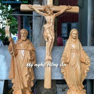 Tượng Công giáo chất liệu nào đẹp nhất, giá tốt nhất?