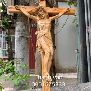 Tượng chuộc tội gỗ đẹp TC59