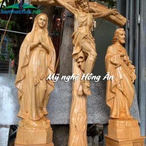Bộ tượng Chúa để bàn thờ TC61