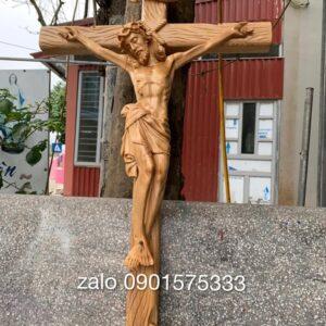Tượng thánh giá gỗ Chúa Giêsu TC58