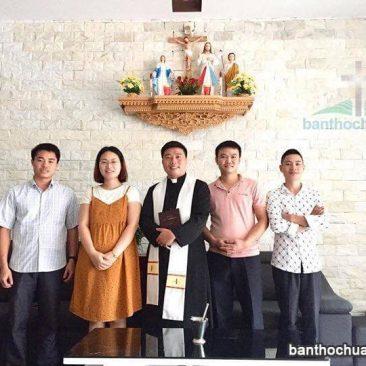 Phòng khách tại Ninh Bình